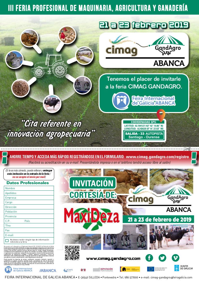INVITACION CIMAG-GANDAGRO MAXIDEZA, S.L.-2