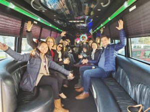 Corporate Party Bus in Boston