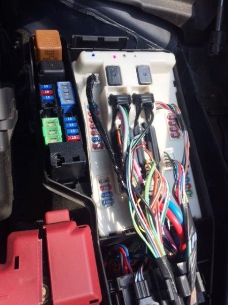 2013 Nissan Sentra Fuse Box Steering Wheel Lock Question Maxima Forums