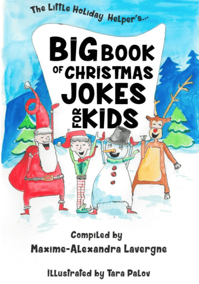 Cover Art from the Big Book of Christmas Jokes for Kids!: A Book of Giggles from The Little Holiday Helper!