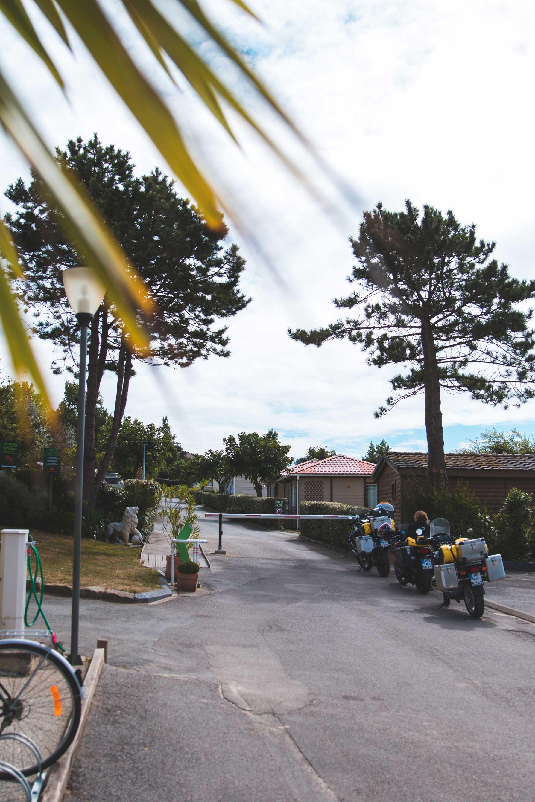 Camping de L'iroise - Plomodierne (finistère, Bretagne, France)