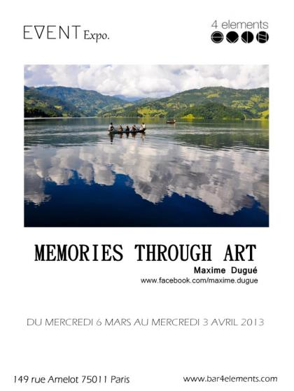 Expo au 4 Eléments du 6 mars au 3 avril 2013