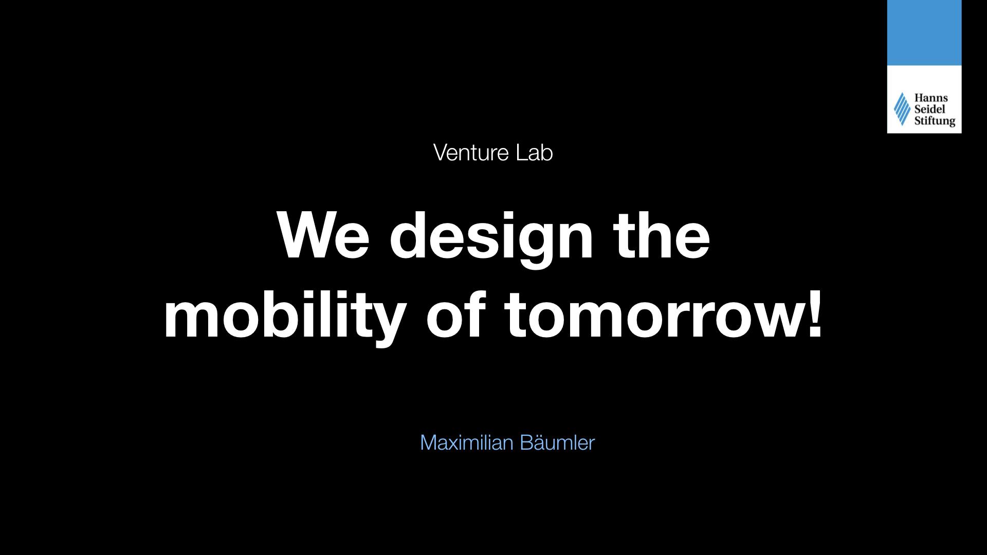 venture lab  wir gestalten die mobilit u00e4t von morgen