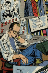 Ditko self-portrait
