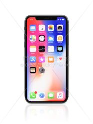 background iphone apple display colorful smartphone desktop isolated commercial maximimages loading