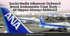 Social Media Influencer Outreach Brand Ambassador Case Study – All Nippon Airways #ANALAX