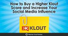 How to Buy a Higher Klout Score and Increase Your Social Media Influence