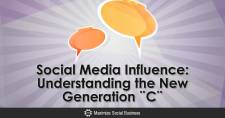 Social Media Influence: Understanding the New Generation ¨C¨