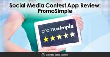 Social Media Contest App Review: PromoSimple