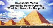How Social Media Toppled the Donor Pyramid – What that Means for Nonprofits