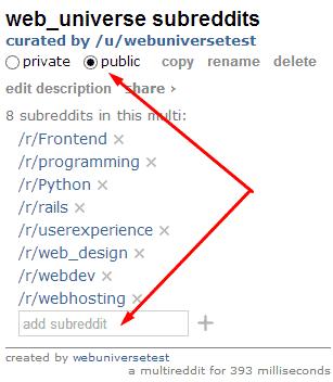 webuniverse multireddit