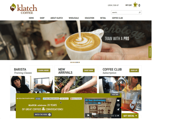 Creating an Engaging Customer Experience In A Socially Connected Marketplace Customer Experience Marketing  Klatch-Coffee-1024x680