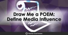 Draw Me a POEM: Define Media Influence