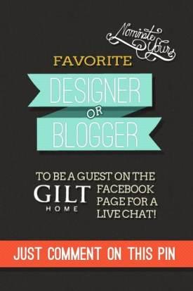 Gilt Pinterest Contest