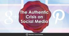 The Authentic Crisis on Social Media
