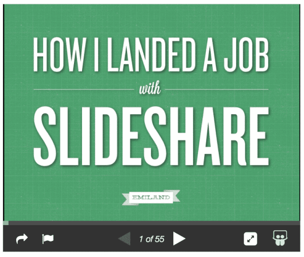 How to Use Slideshare for Personal Branding SlideShare  slideshare-personal-branding-02