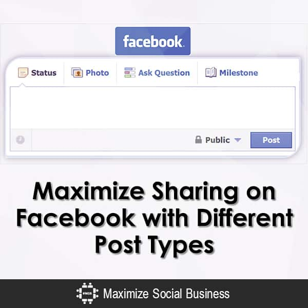 Maximize Sharing on Facebook with Different Post Types Facebook  Maximize-Sharing-on-Facebook-with-Different-Post-Types-600x600-V1