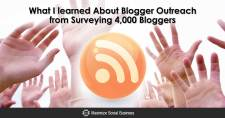 What I learned About Blogger Outreach from Surveying 4,000 Bloggers