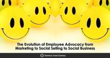 The Evolution of Employee Advocacy from Marketing to Social Selling to Social Business