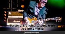 Personal Branding Lessons From Joe Bonamassa