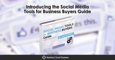 Introducing the Social Media Tools for Business Buyer's Guide