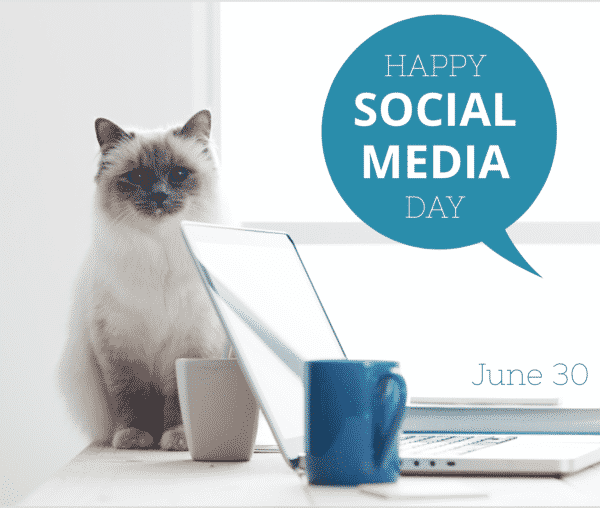 holiday posts for social media promosimple happy social media day june 30