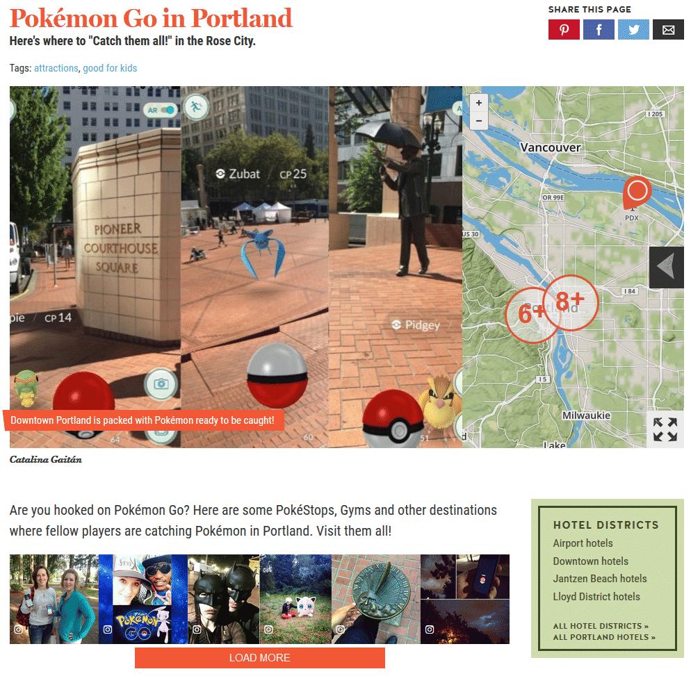 7 Ways the Hospitality Industry is Embracing Pokémon Go Social Media for Hospitality  pokemonportland