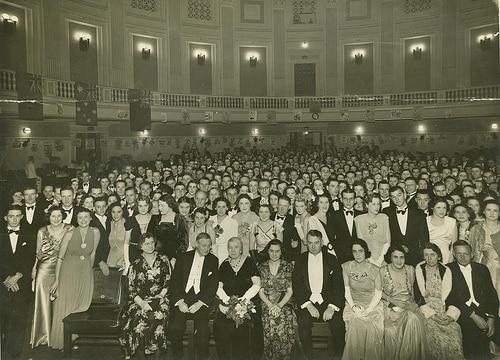 large crowd photo