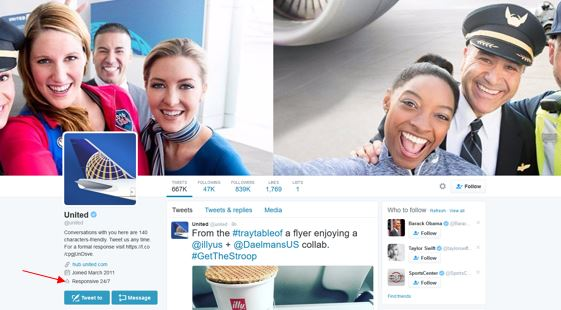 Twitter's New Customer Service Tools Take Hospitality to the Next Level Social Media for Hospitality  united-twitter