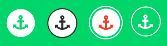 icon circle background
