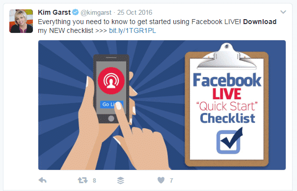 How to Easily Build a Targeted Email List with Twitter Twitter  facebook-live-lead-magnet-download-kim-garst