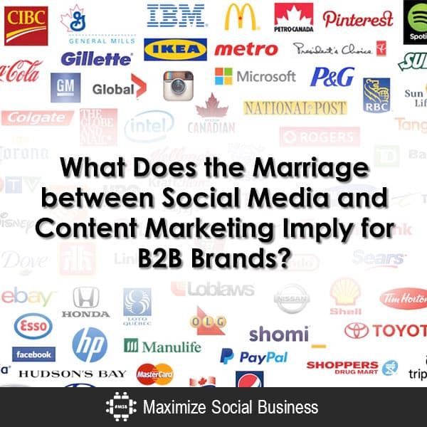 What Does the Marriage between Social Media and Content Marketing Imply for B2B Brands?