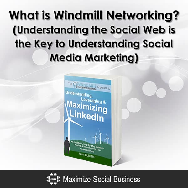 What is Windmill Networking? (Understanding the Social Web is the Key to Understanding Social Media Marketing)
