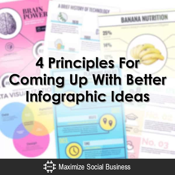 4 Principles For Coming Up With Better Infographic Ideas