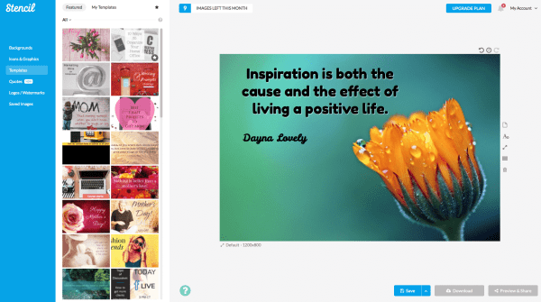 Stencil - a great low-cost content marketing tool