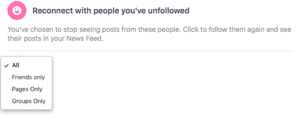 how to see who unfollows you on facebook