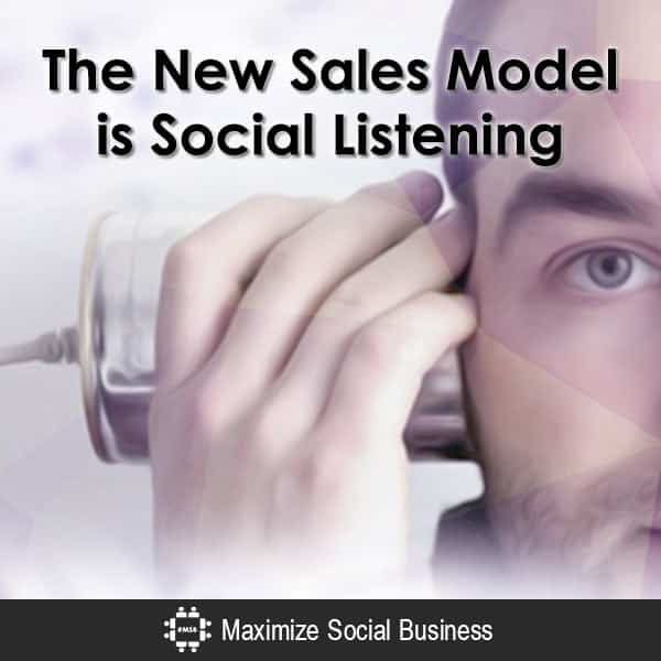 The New Sales Model is Social Listening