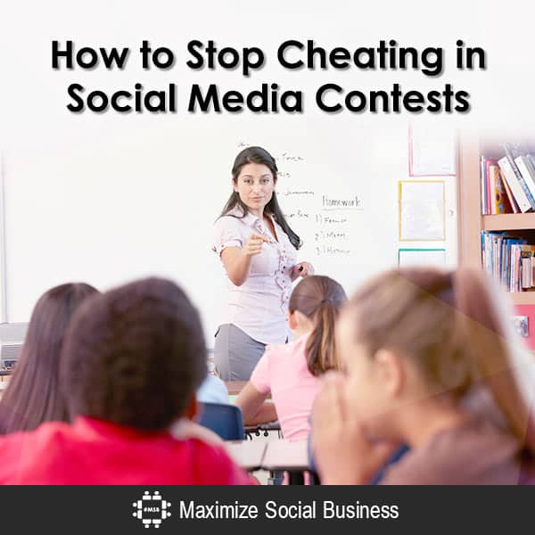 How to Stop Cheating in Social Media Contests