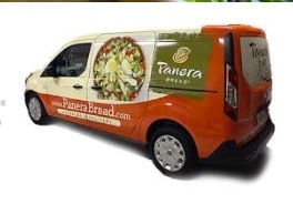 5 Ways Panera Bread Creates an Engaging Customer Experience - A Case Study Customer Experience Marketing  Panera-Bread-delivery-van