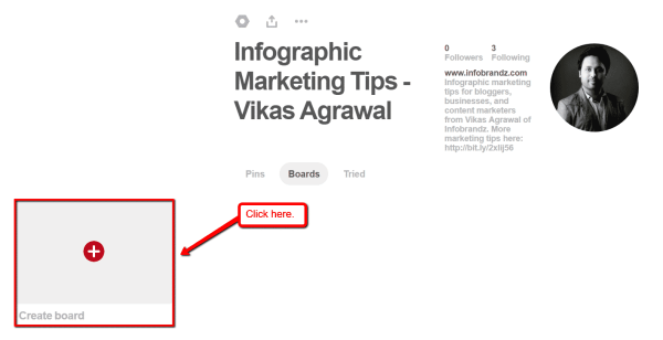 How to Use Infographics on Pinterest to Get More Website Traffic Infographics  Create_board-600x308