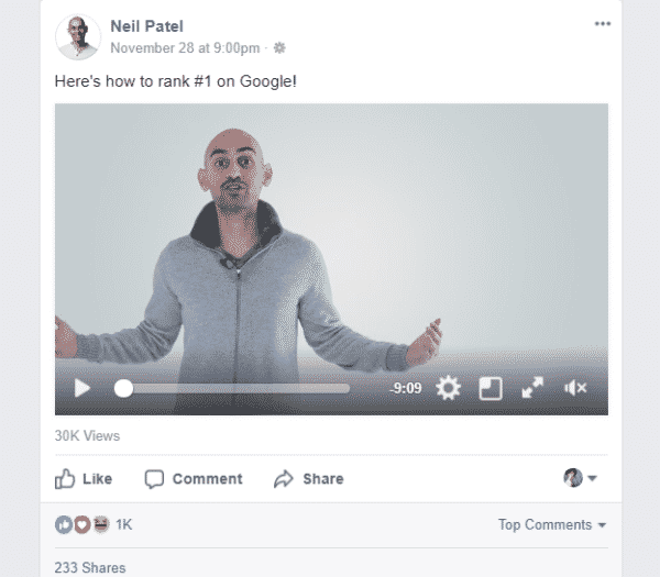 Here's What Your Facebook Posts Should Look Like in 2018 Facebook  pic_5-600x525