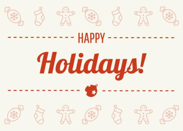 6 Holiday Card Design Tips For Social Media Infographics  xmaspost1-600x430