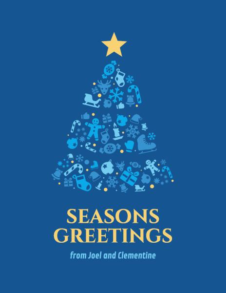 6 Holiday Card Design Tips For Social Media Infographics  xmaspost2-464x600