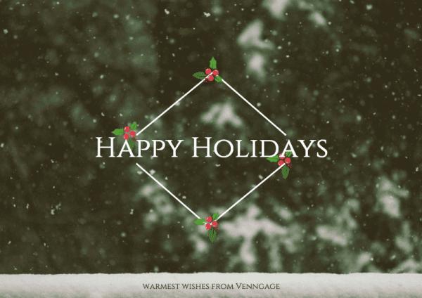6 Holiday Card Design Tips For Social Media Infographics  xmaspost5-600x424