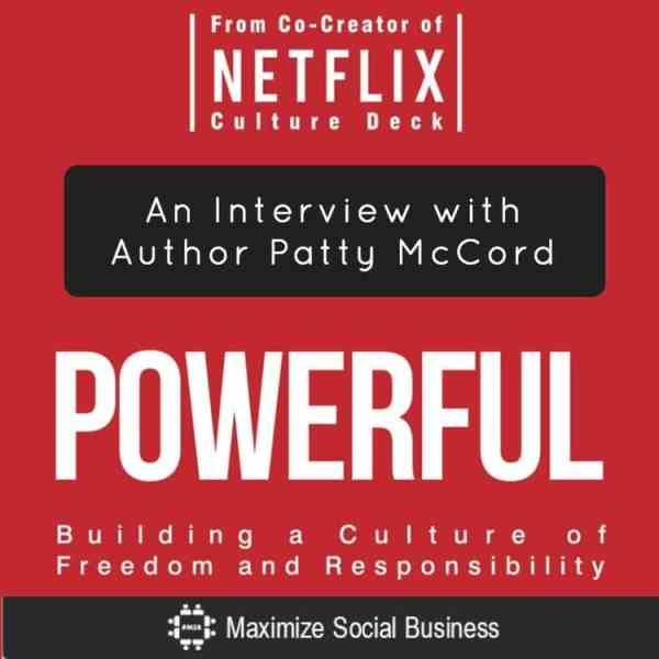 Powerful book by Patty McCord Netflix Culture Deck co-author