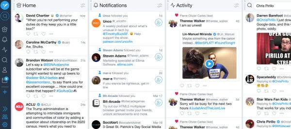 Social Media Apps: 11 Incredible Tools for Managing Your Social Media in 2018 Social Media Tools  TweetDeck-600x266