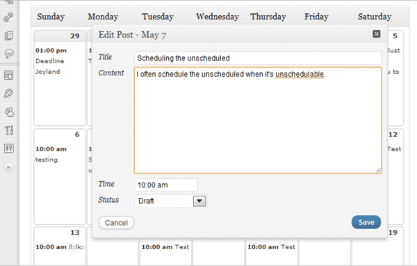 Tools For Creating And Maintaining An Editorial Calendar