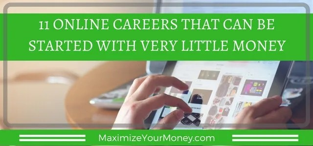 Earn money online with these low-cost careers