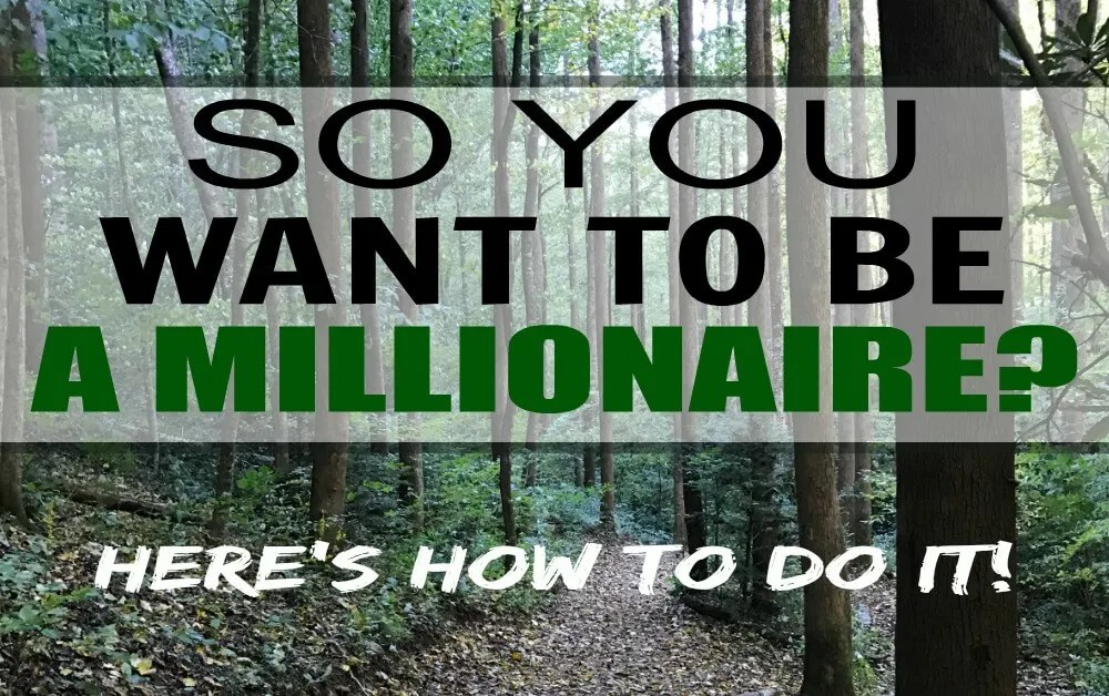 Want to be a millionaire?