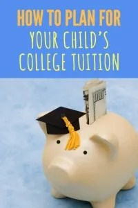 Plan For Your Child's College Education